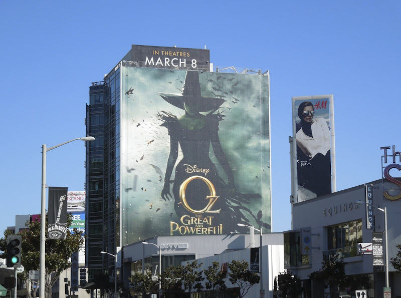 Giant Great Powerful movie billboard