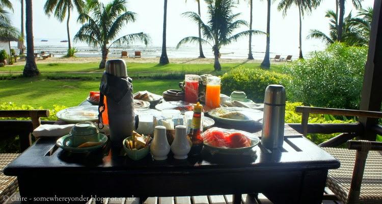 Breakfast - Ko Phi Phi, Thailand