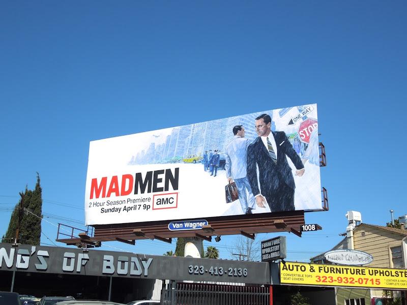 Mad Men season 6 billboard
