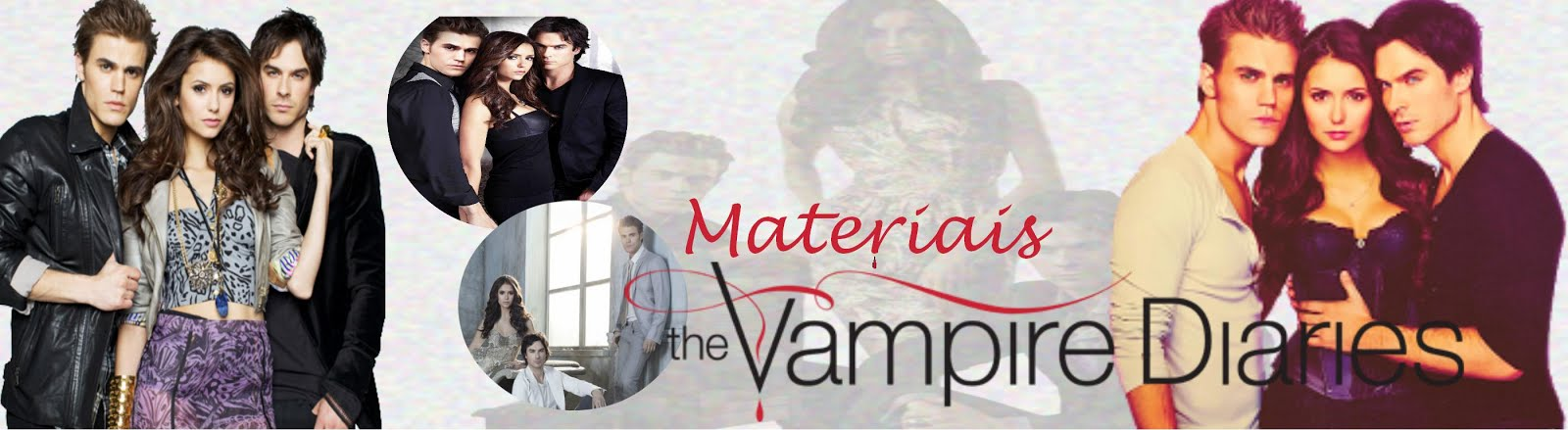 Materiais The Vampire Diaries