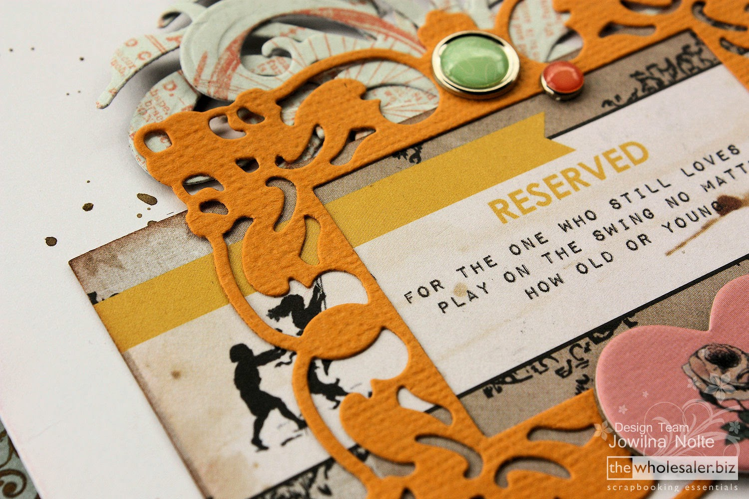 Layered die-cuts on a card - The Wholesaler. - imagine the ...