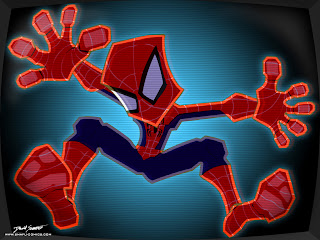 Wallpaper kartun spiderman