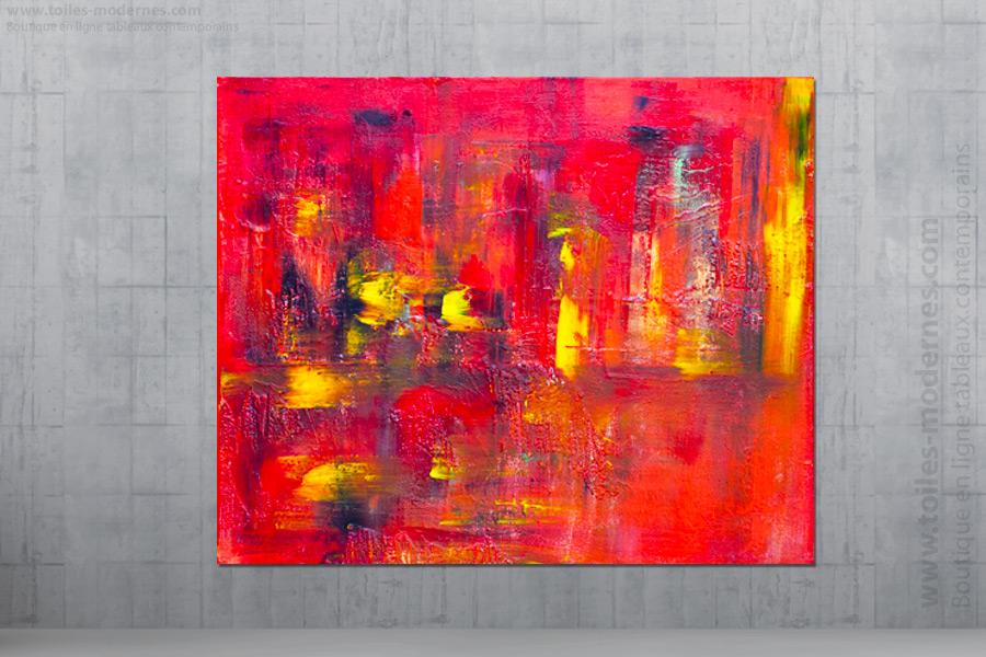 Jo lle caria artiste peintre toiles tableaux modernes contempor - Tableaux tryptiques contemporains ...