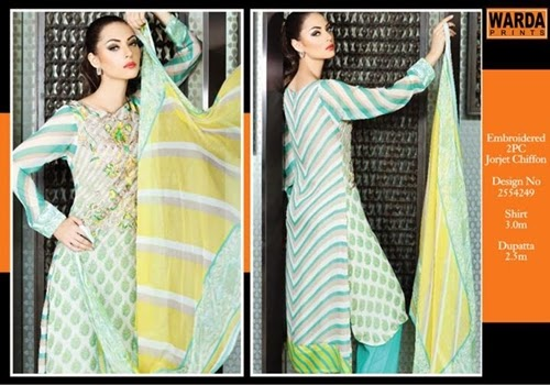 Warda Lawn Eid Collection 2014