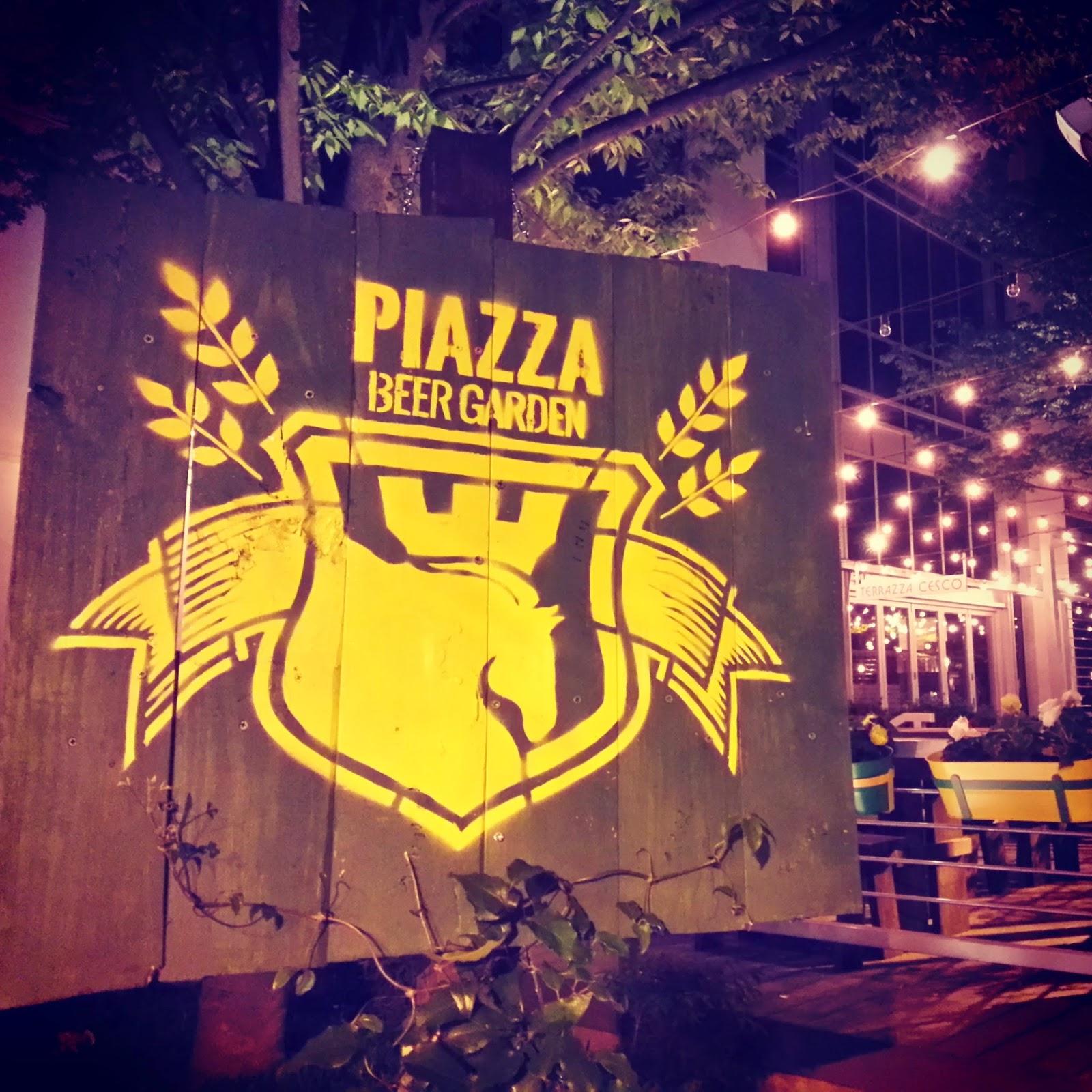 Garden La Piazza: Robert Dyer @ Bethesda Row: PIAZZA BEER GARDEN TO REOPEN
