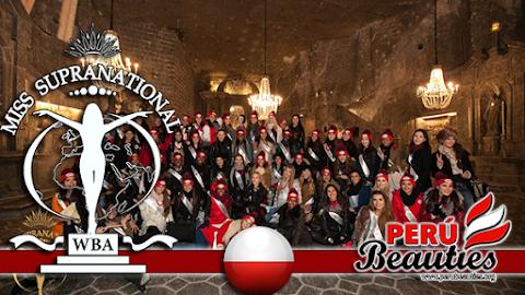 Miss Supranational 2015 / Salt Mine in Wieliczka!
