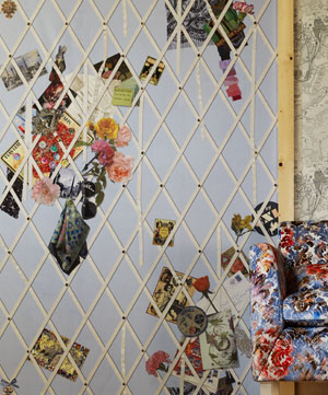 Amore per interni inconfondibile christian lacroix - Designers guild telas ...