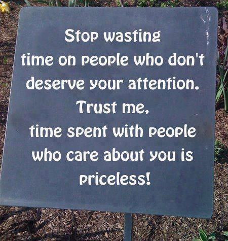 quotes and sayings stop wasting time