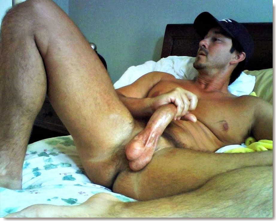 Very sexy mans big cock in other man sexy photo