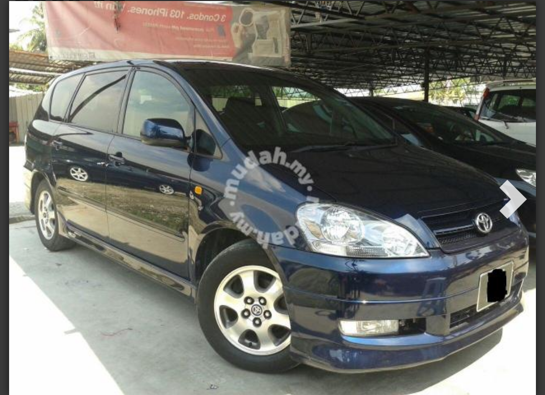 Toyota ipsum 2 4 vvti a s spec 02 cars for sale in klang selangor