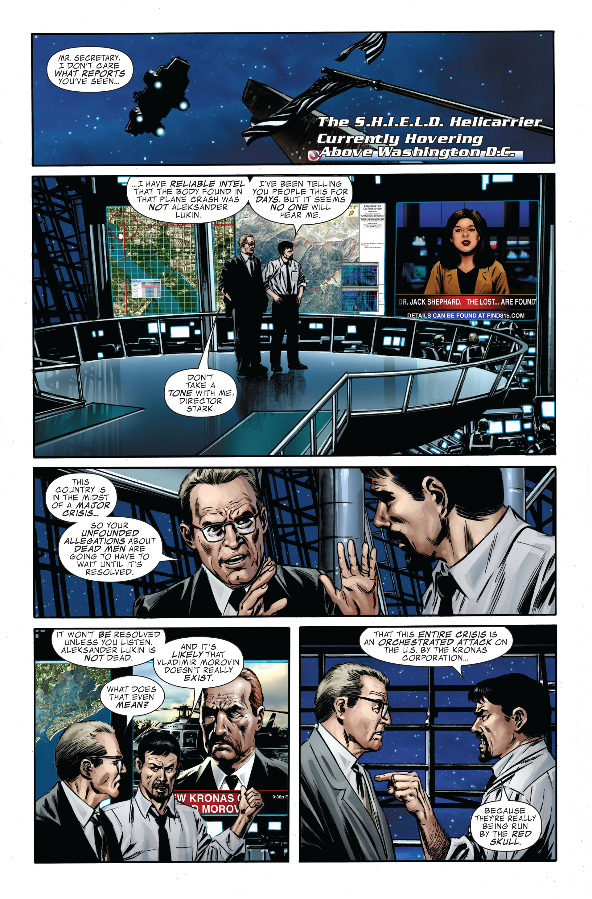 Captain America (2005) Issue #34 #34 - English 15