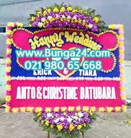 Bunga Papan Pernikahan di Hotel Mewah