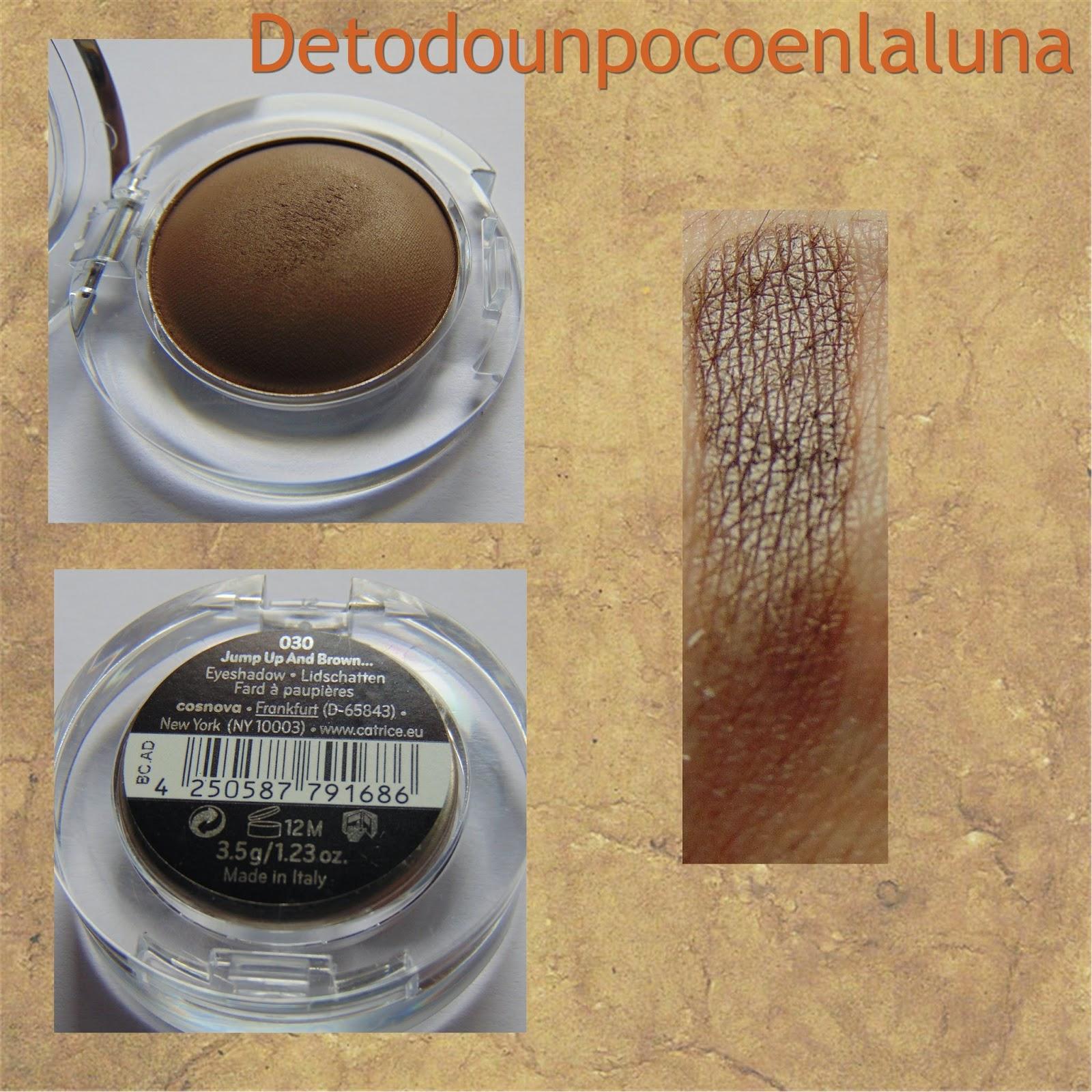030 Jump Up and Brown Sombras Velvet Matt Eyeshadow de Catrice