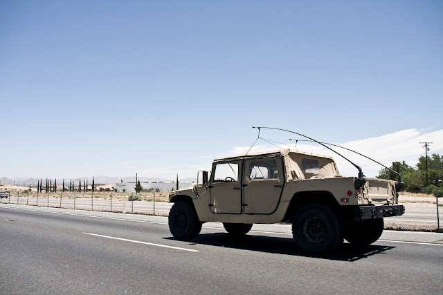 Military Humvee To Vegas