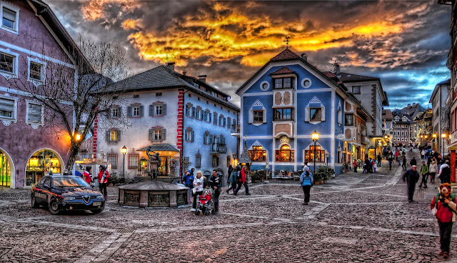 Ortisei Mountain Town in Northern Italy