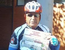 Anaya, premio al más veterano en la Marcha Pirineos de la Costa del Sol