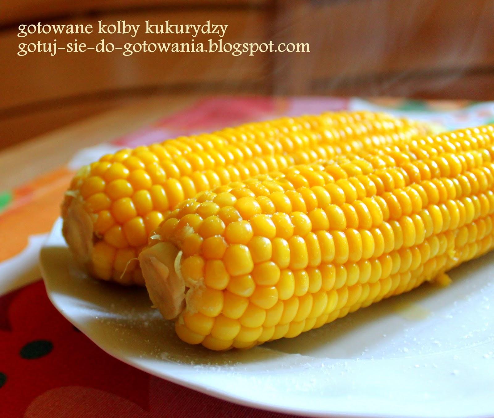 Gotuj Się Do Gotowania Gotowana Kukurydza Przepis Podstawowy