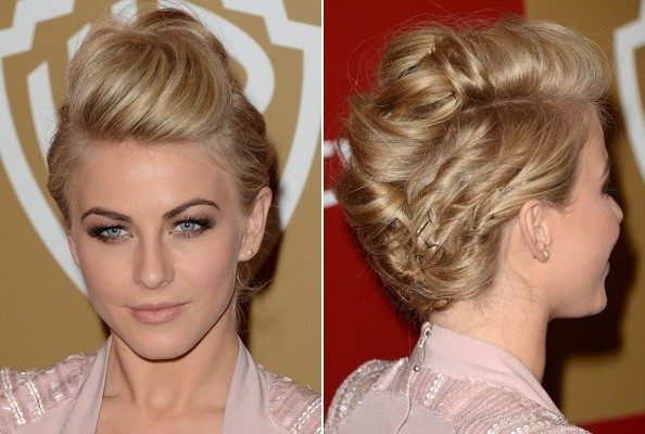 Celebrity Prom Hairstyle Ideas
