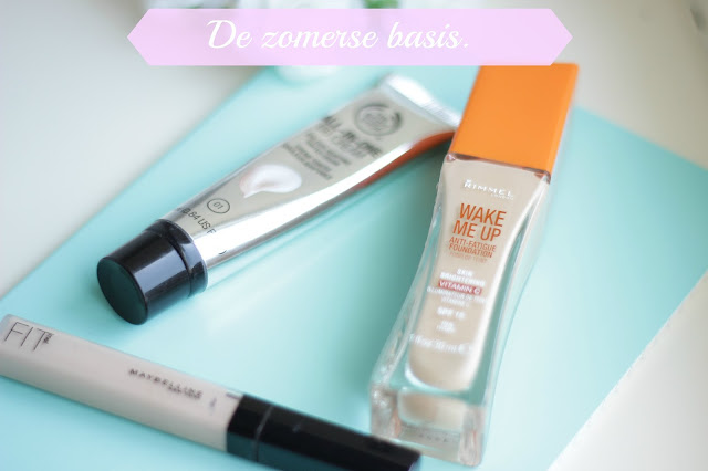 zomerse basis make-up producten