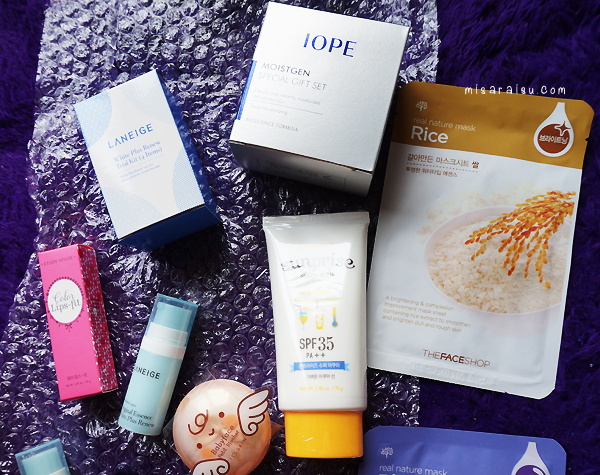 korean makeup laneige iope etude house