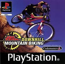 No Fear Downhill Mountain Bike Racing   PS1
