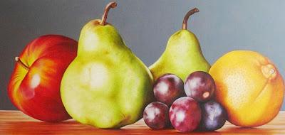 pintura-bodegon-frutas