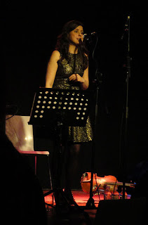 Bernadette Morris at CQAF's Out to Lunch Festival 2012 in Belfast's Black Box