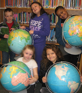 Ashaway school library travel the world inside a book