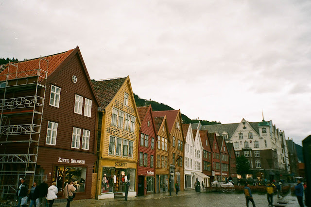 Bergen Norway houses