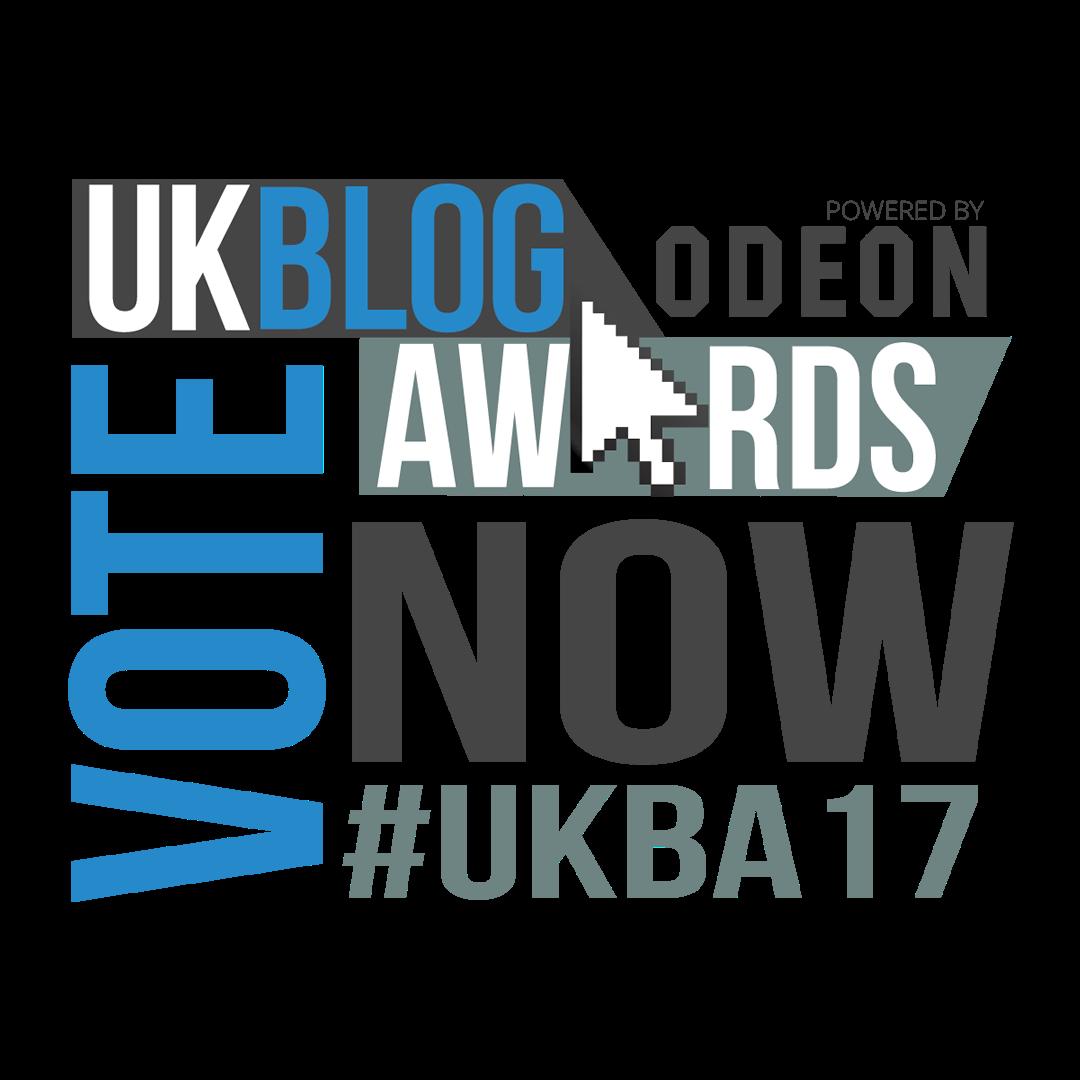Nominated UK Blog Awards '17
