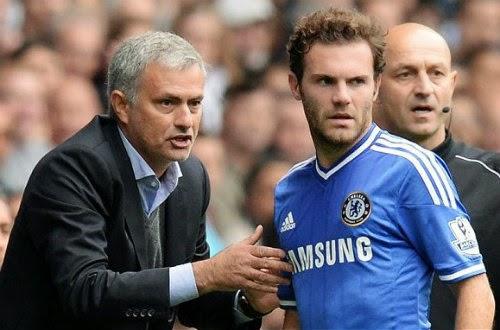 Mata đối mặt Chelsea