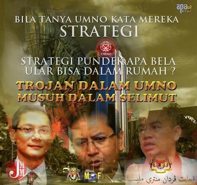 Strategi Jadah Apa Dah Bertahun Tak Membawa Hasil...Punah Lagi Adalah..