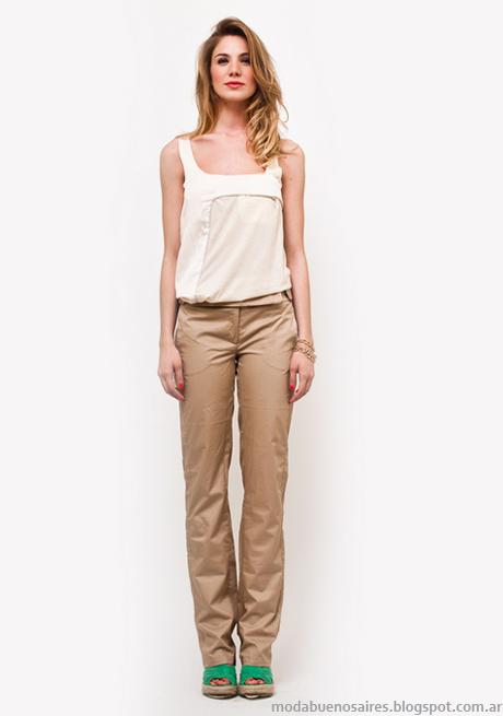 Moda verano 2013 Mariana Marquez pantalones verano