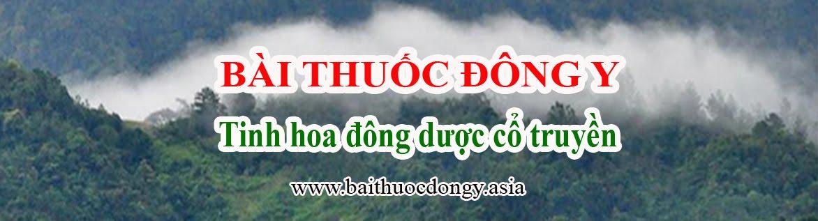 BÀI THUỐC ĐÔNG Y