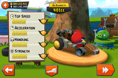 Angry Birds Go Mod Apk Screenshot