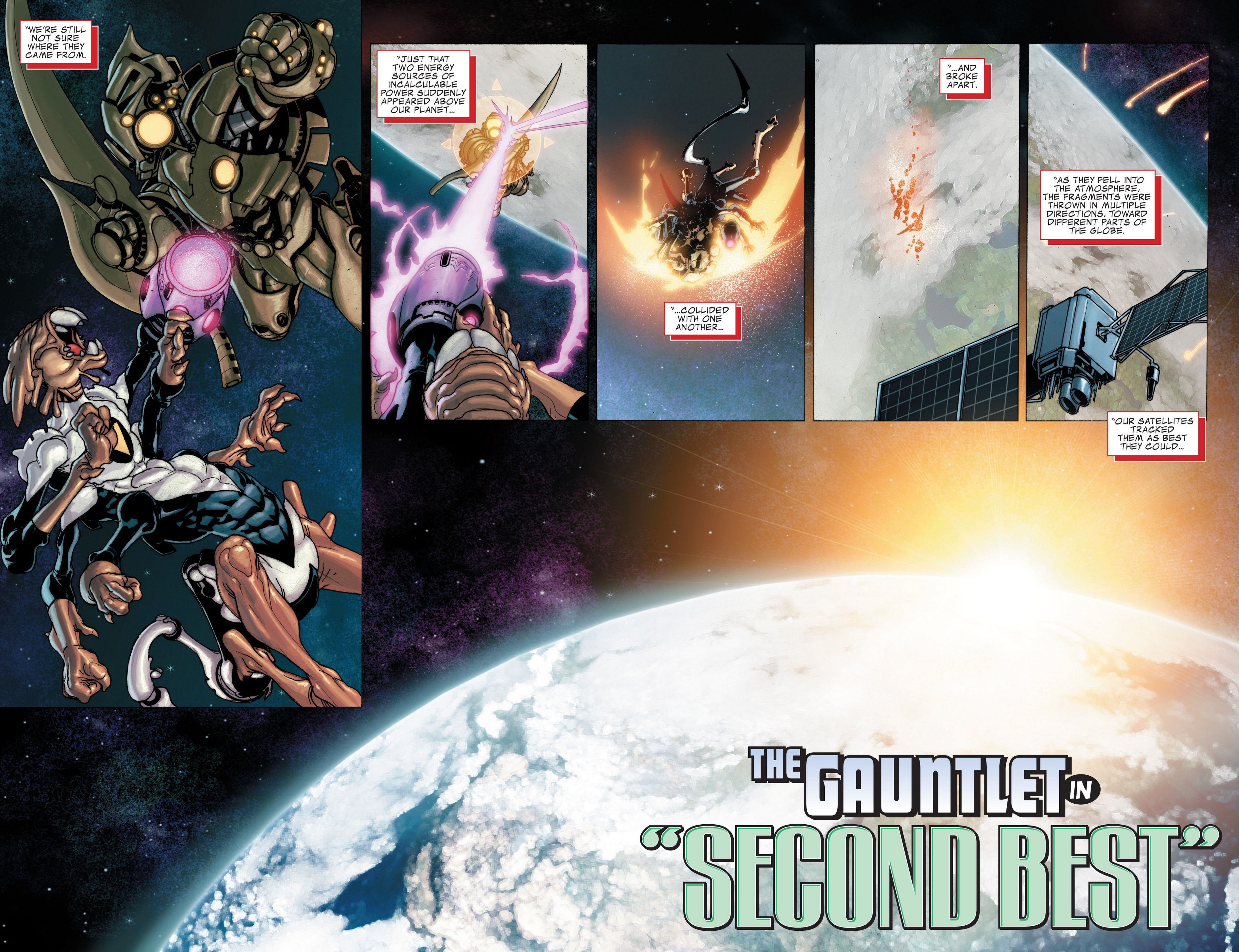 Read online Secret Invasion: The Infiltration comic -  Issue #4 - 3