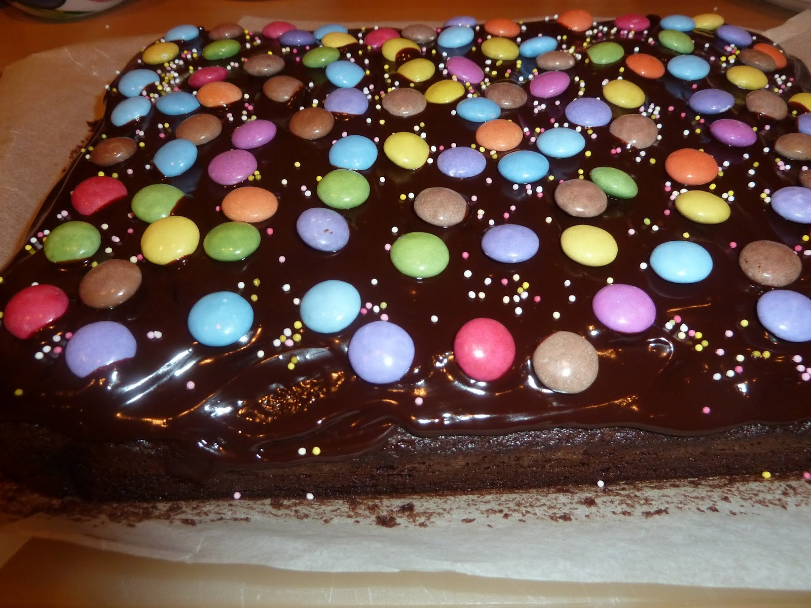 Sweet Things For Sophie Smartie Tray Bake