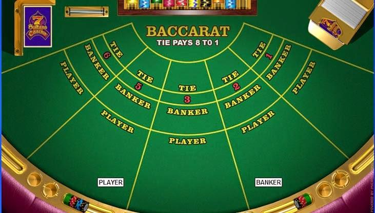 El baccarat y sus diferencias con el blackjack
