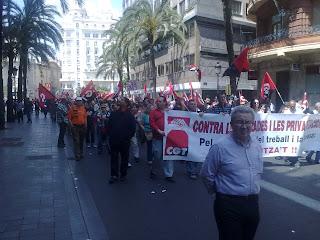 1º de Mayo anarcosindicalista València. CGT València
