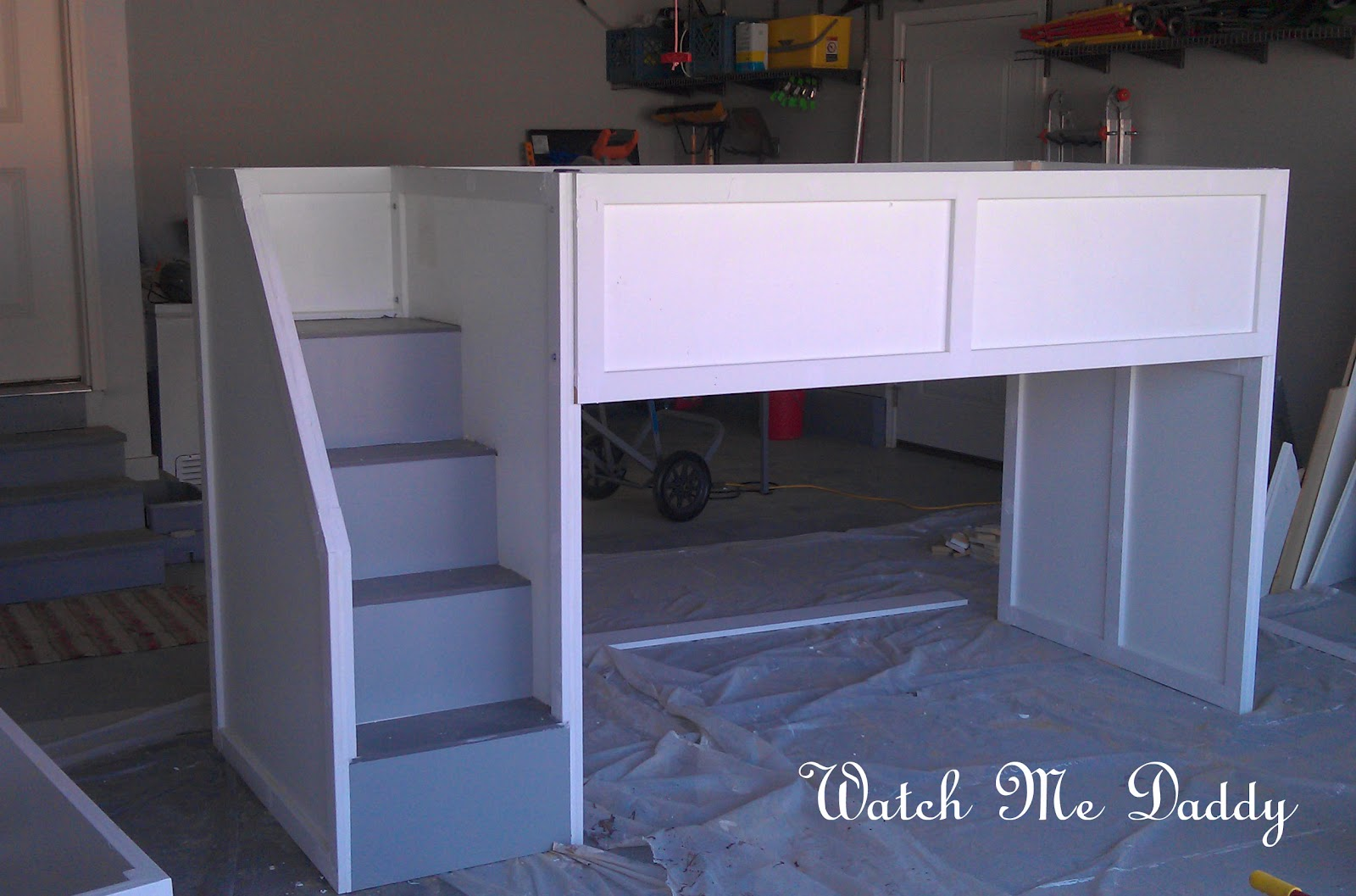 plans for building bunk beds with stairs | Basic Woodworking Projects