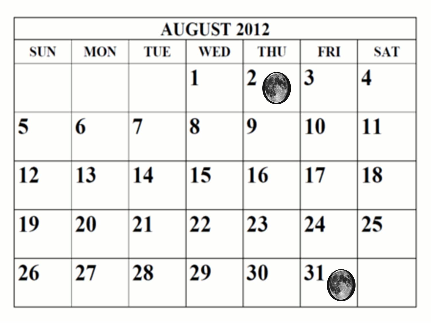 calender august