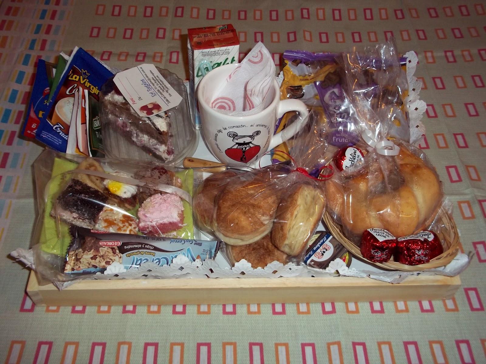 Desayunos y regalos sorpresa a domicilio un dulce caroldoey - Desayuno sorpresa madrid ...