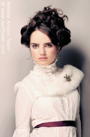 MeghannElizabeth Victorian Makeup And Hair Styles