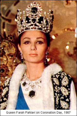 Empress Farah Pahlavi coronation, Van Cleef & Arpels