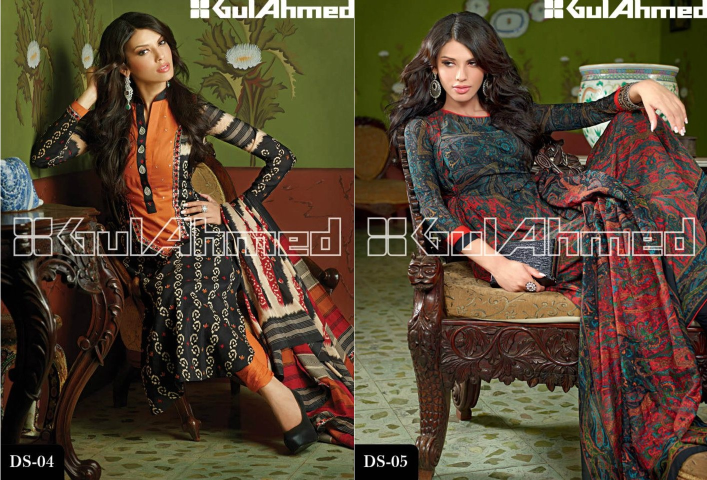 Gul Ahmed Signature Lawn Series Magazine 2013 - Clothing9 | Latest ...