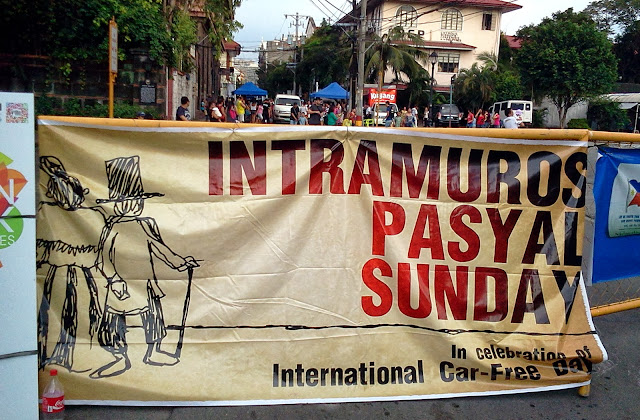 Intramuros Pasyal Sunday