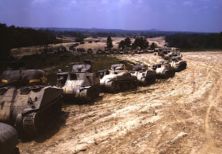 M-4 (General Sherman) and M-3 (General Grant) tanks , 1942