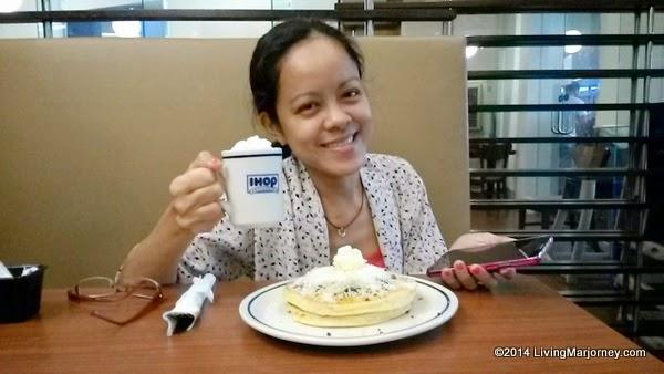 IHOP Malagos Hot Chocolate and Bibingka Pancake