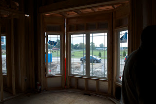Front Window In New House