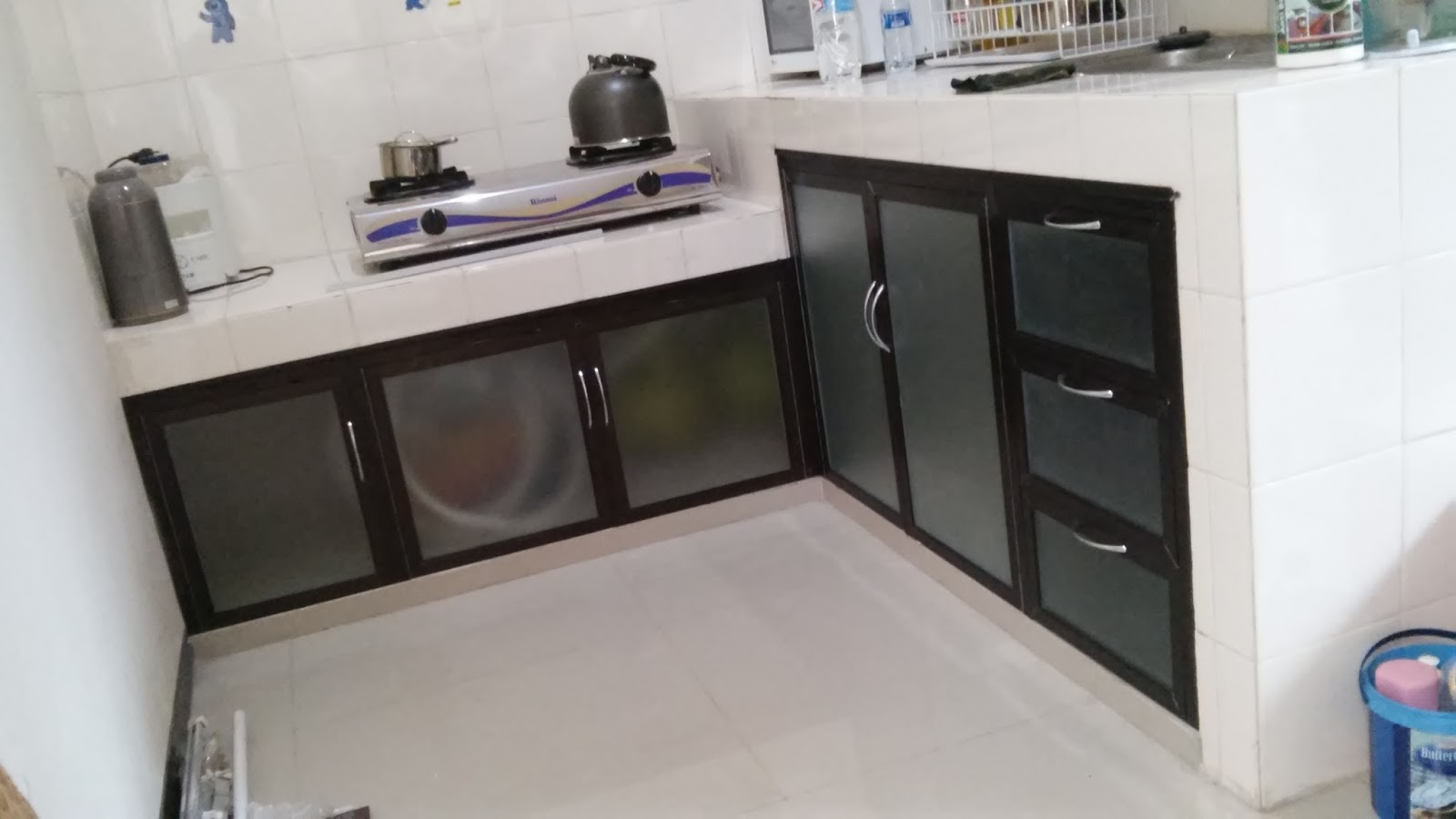 Laris Pro Alumunium Kaca Surabaya Kitchen Set Alumunium